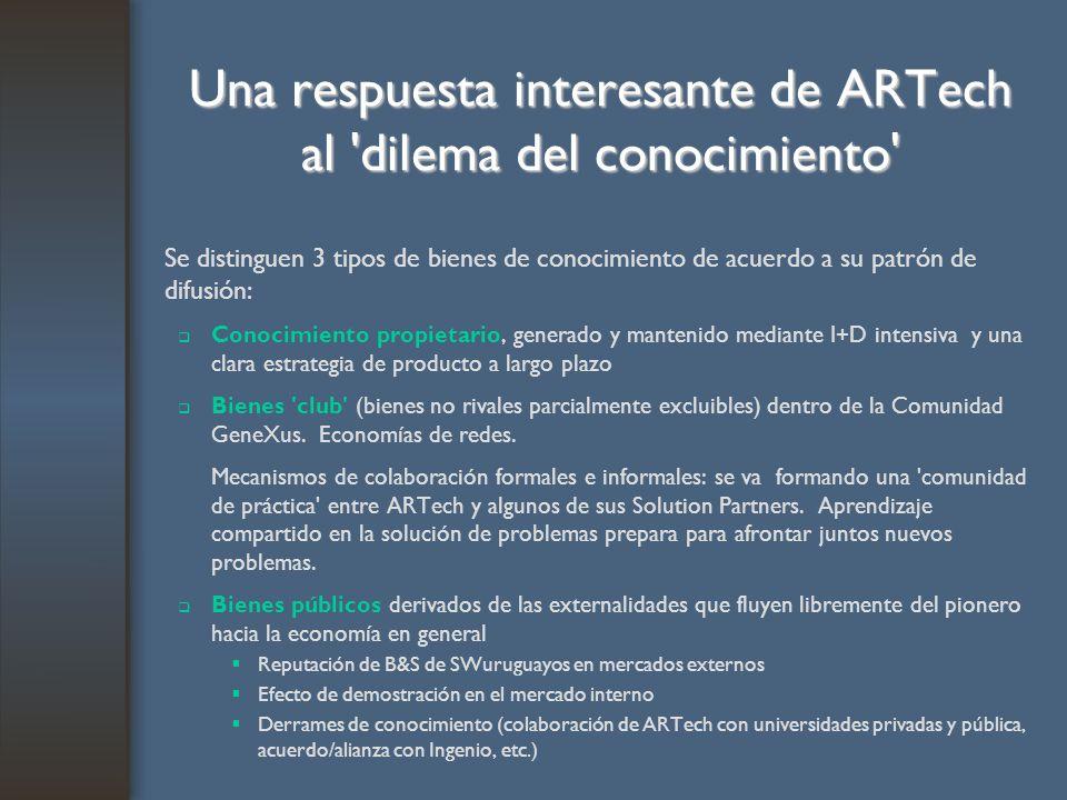Una respuesta interesante de ARTech al dilema del conocimiento