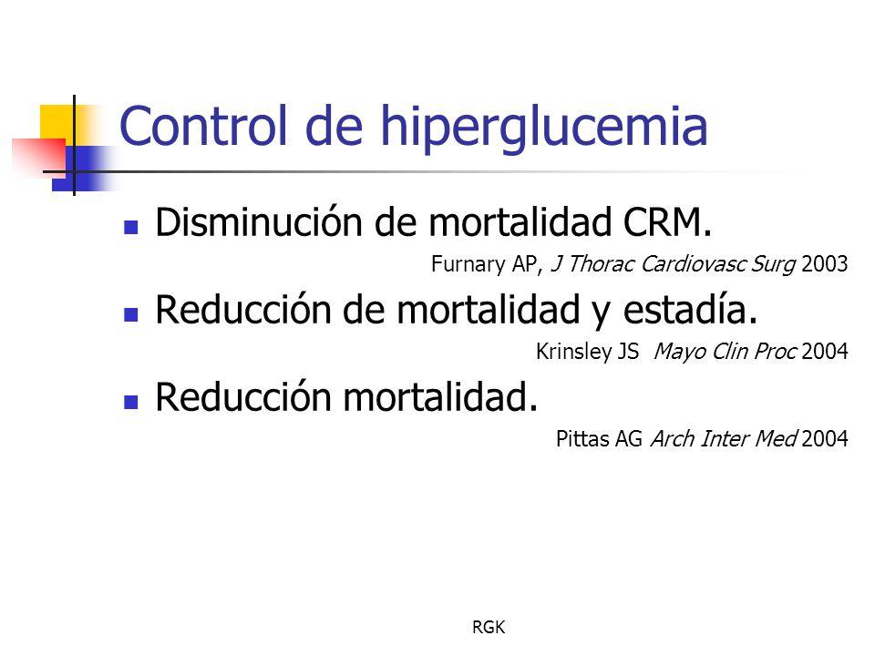 Control de hiperglucemia