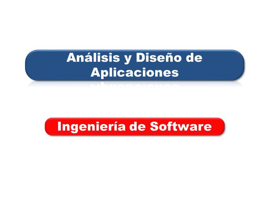 Análisis y Diseño de Aplicaciones Ingeniería de Software