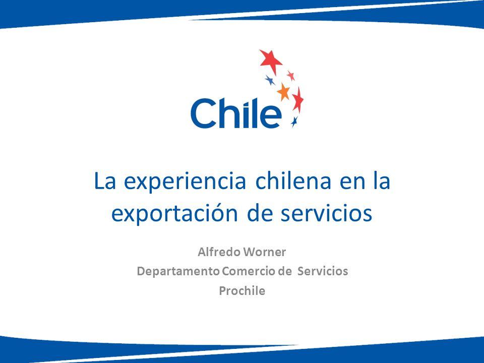 La experiencia chilena en la exportación de servicios