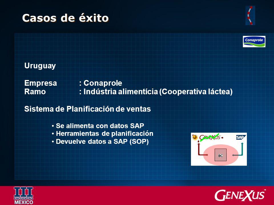 Casos de éxito Uruguay Empresa : Conaprole