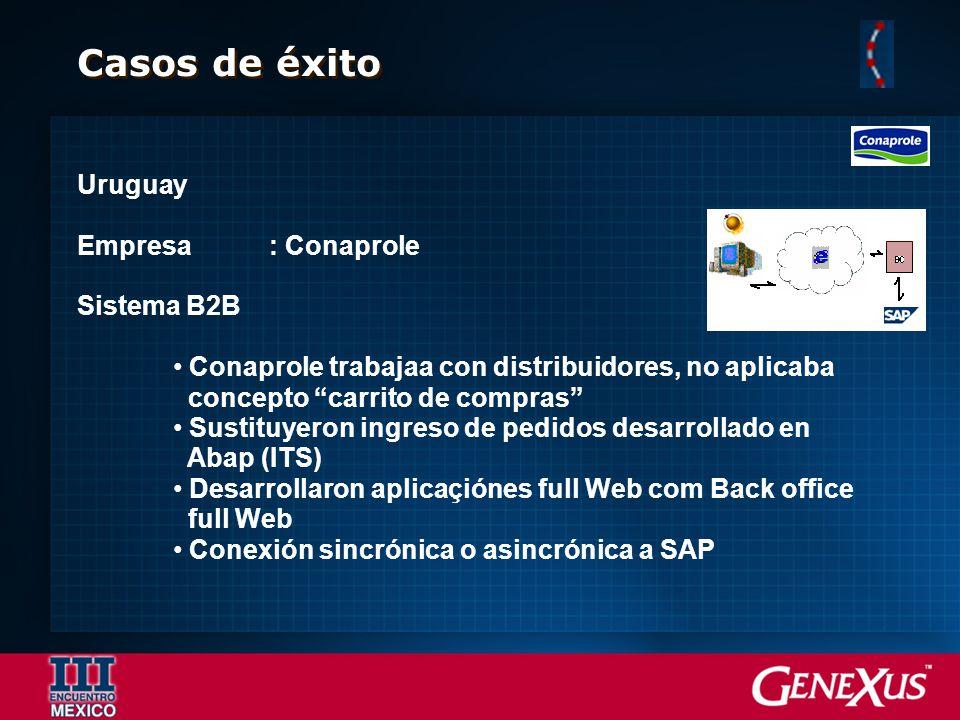 Casos de éxito Uruguay Empresa : Conaprole Sistema B2B