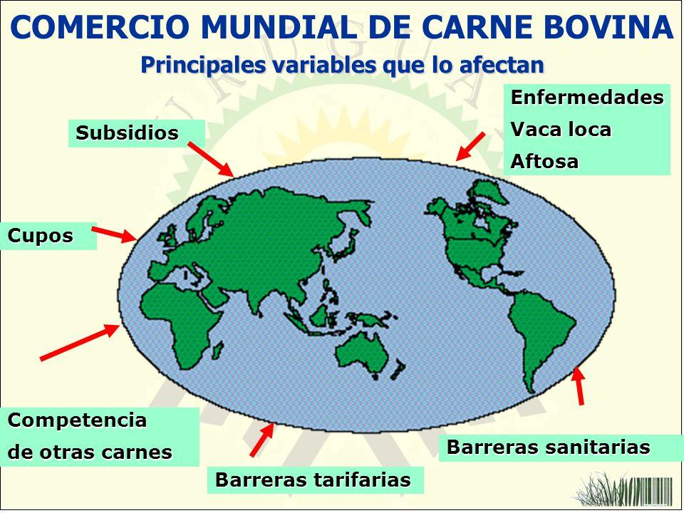COMERCIO MUNDIAL DE CARNE BOVINA