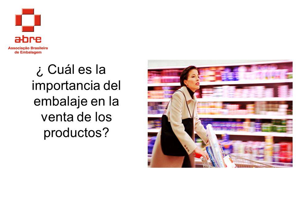 ¿ Cuál es la importancia del embalaje en la venta de los productos