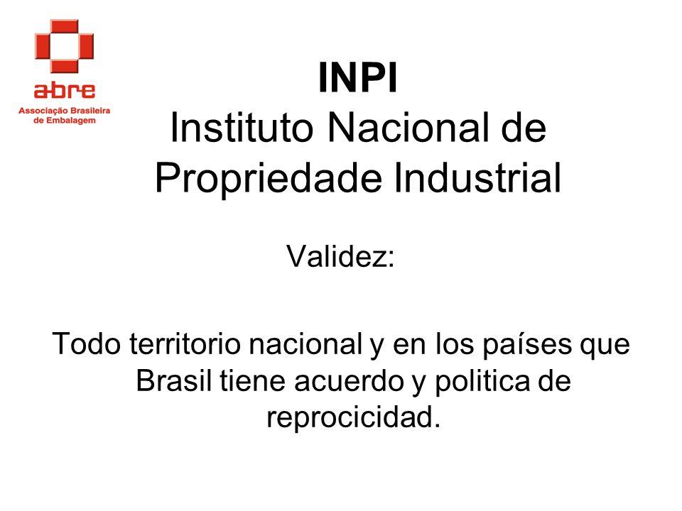 INPI Instituto Nacional de Propriedade Industrial