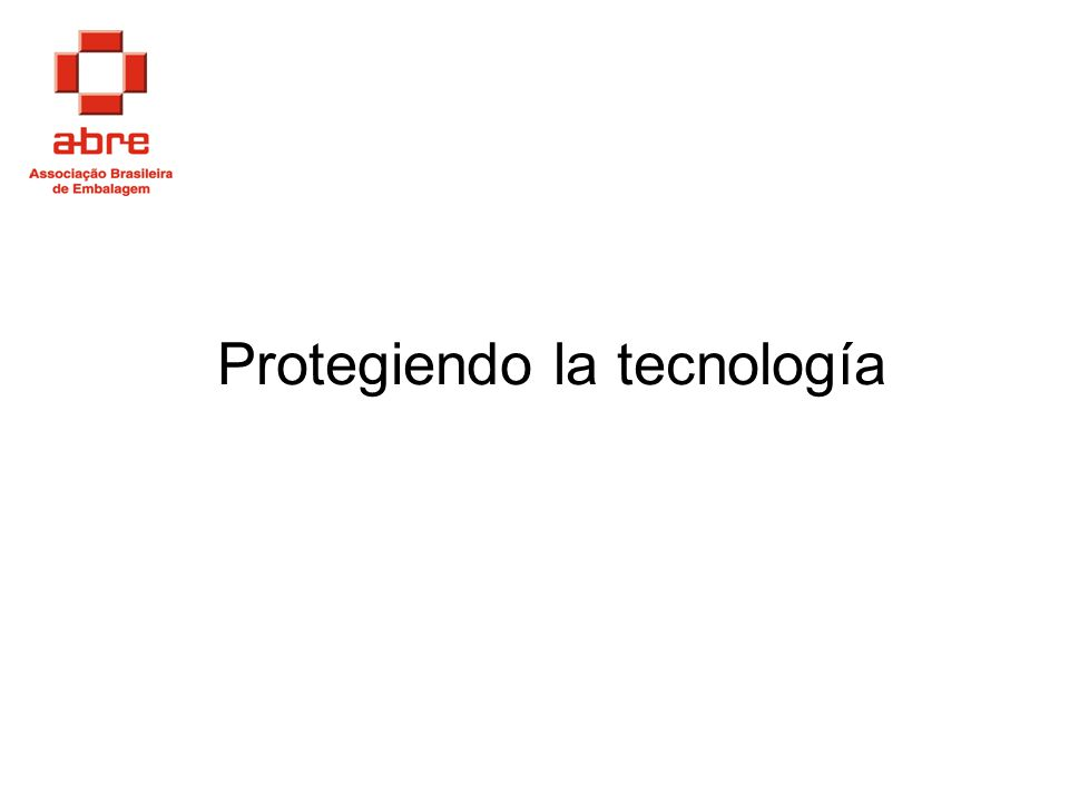 Protegiendo la tecnología
