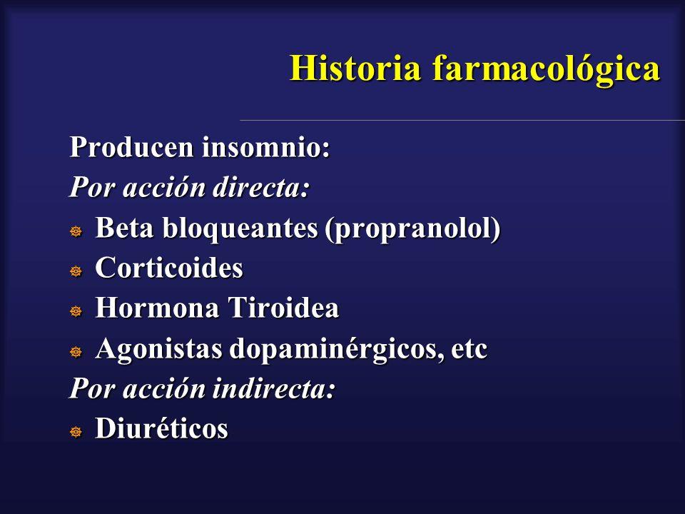 Historia farmacológica
