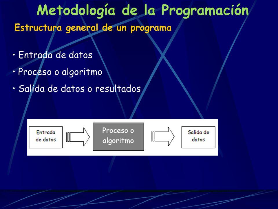 Metodología de la Programación