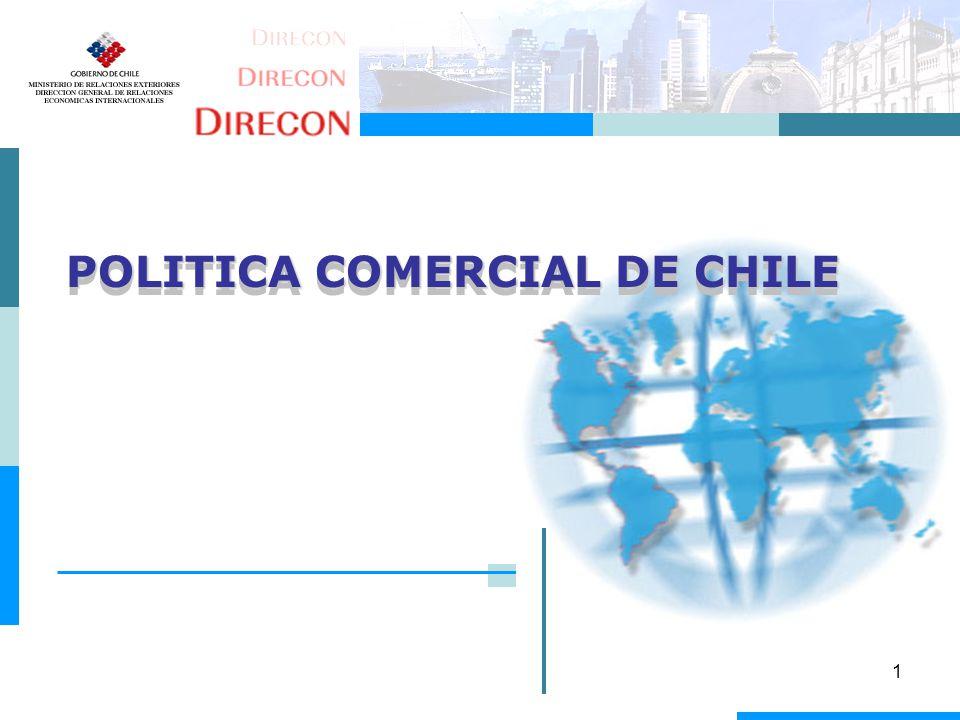 POLITICA COMERCIAL DE CHILE