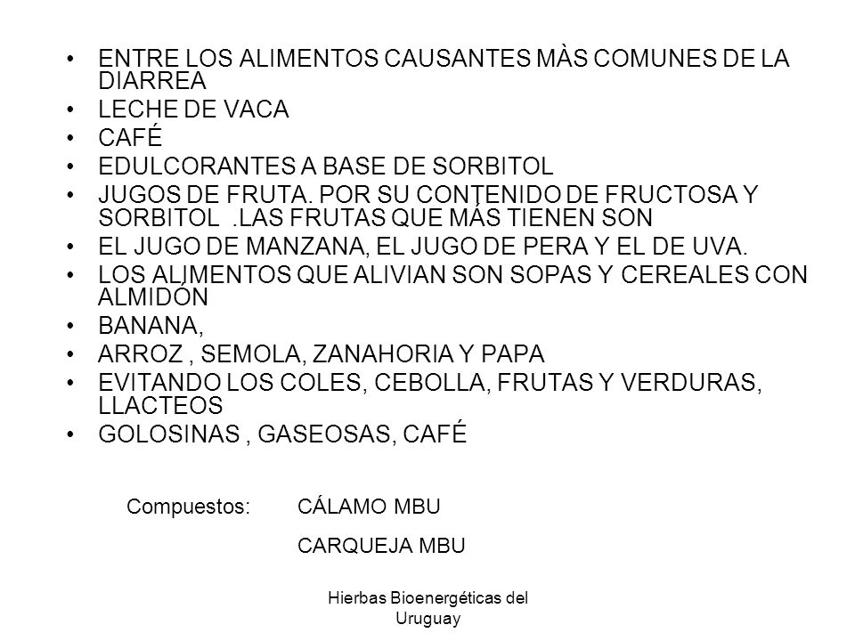 Hierbas Bioenergéticas del Uruguay