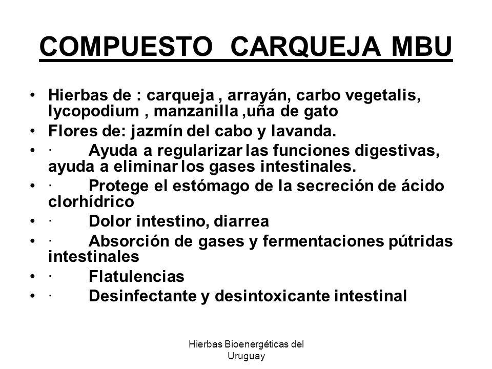 COMPUESTO CARQUEJA MBU