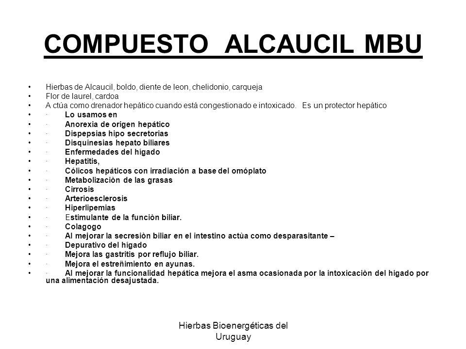 COMPUESTO ALCAUCIL MBU