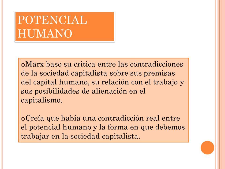 POTENCIAL HUMANO