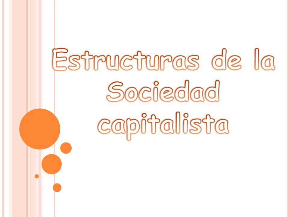 Estructuras de la Sociedad capitalista