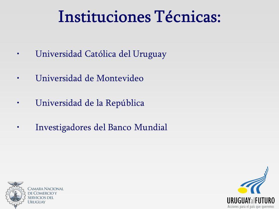 Instituciones Técnicas: