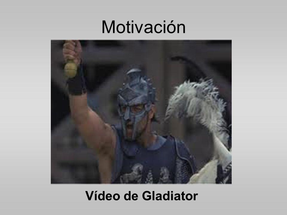 Motivación Vídeo de Gladiator