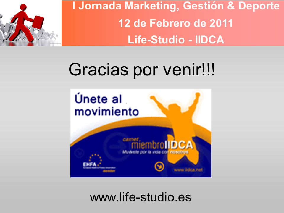 I Jornada Marketing, Gestión & Deporte