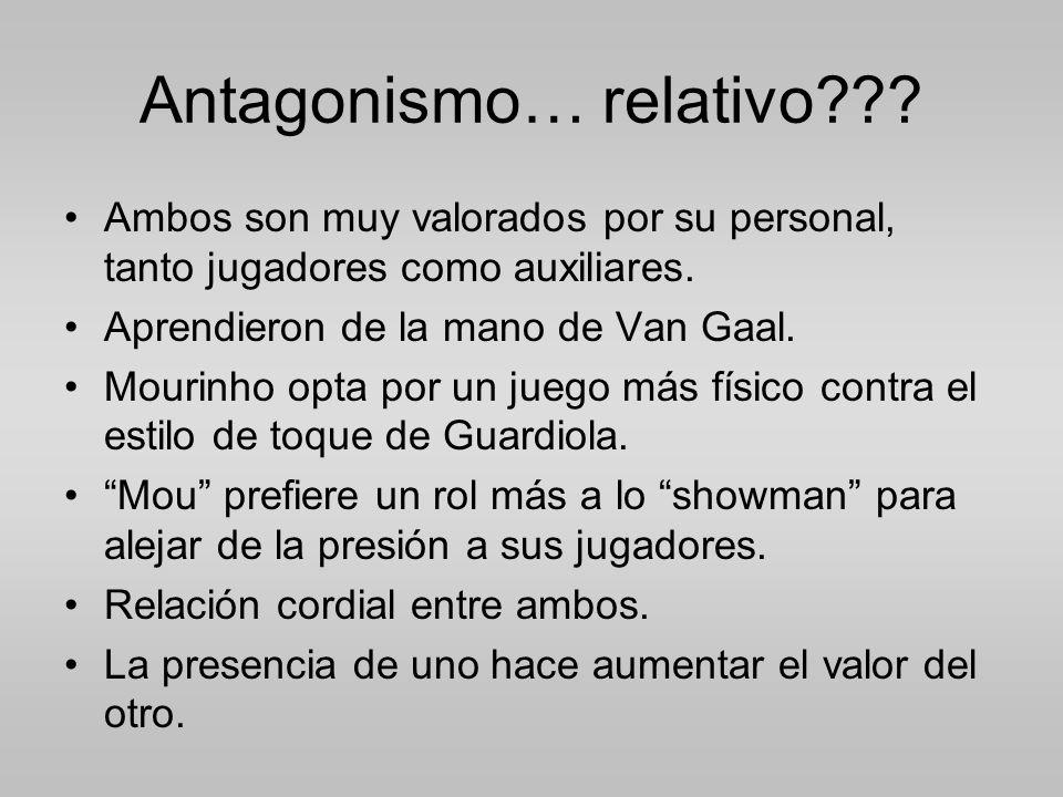 Antagonismo… relativo