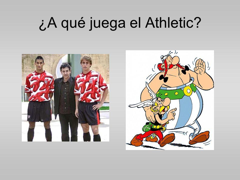¿A qué juega el Athletic