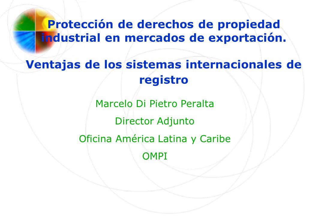 Protección de derechos de propiedad industrial en mercados de exportación. Ventajas de los sistemas internacionales de registro