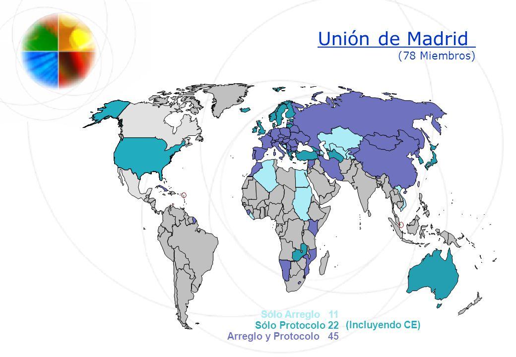 Unión de Madrid (78 Miembros)