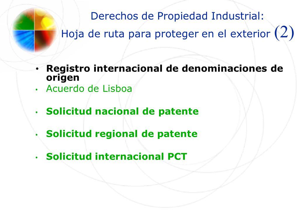 Derechos de Propiedad Industrial: Hoja de ruta para proteger en el exterior (2)