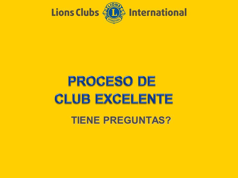 PROCESO DE CLUB EXCELENTE