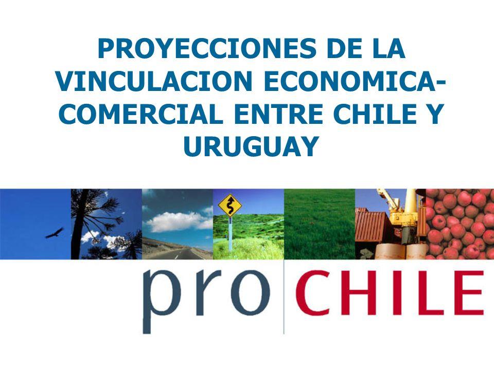 PROYECCIONES DE LA VINCULACION ECONOMICA-COMERCIAL ENTRE CHILE Y URUGUAY