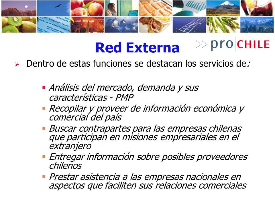 Red Externa Análisis del mercado, demanda y sus características - PMP
