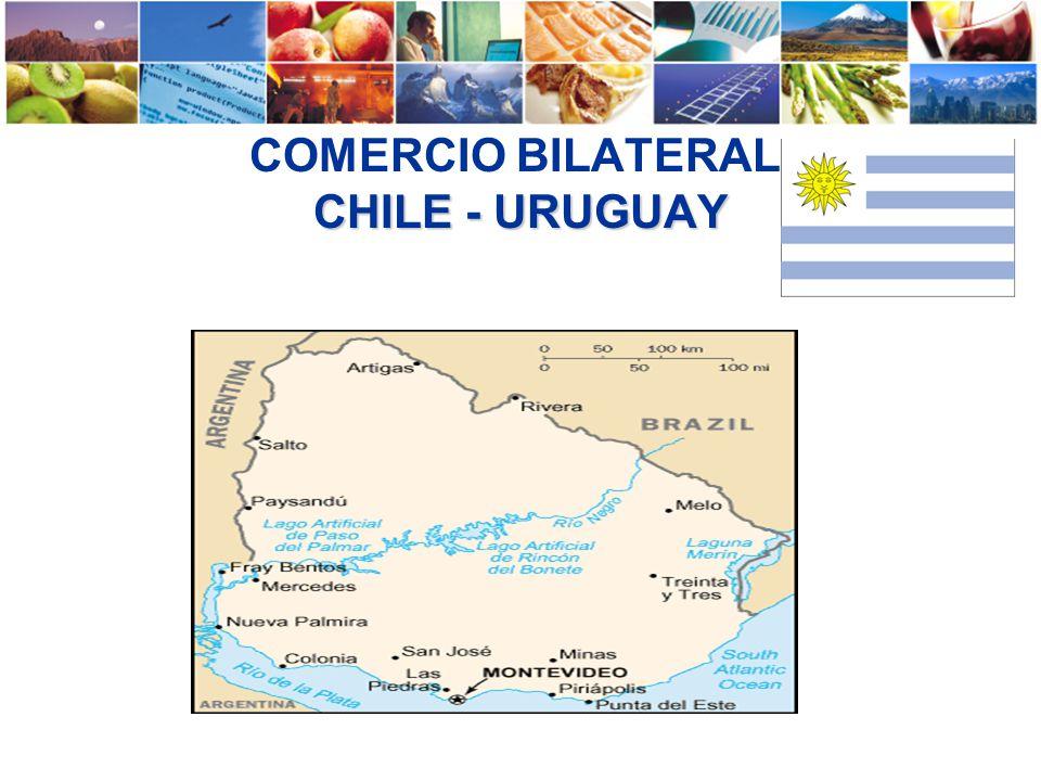 COMERCIO BILATERAL CHILE - URUGUAY