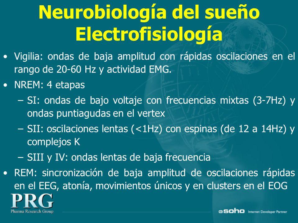 Neurobiología del sueño Electrofisiología
