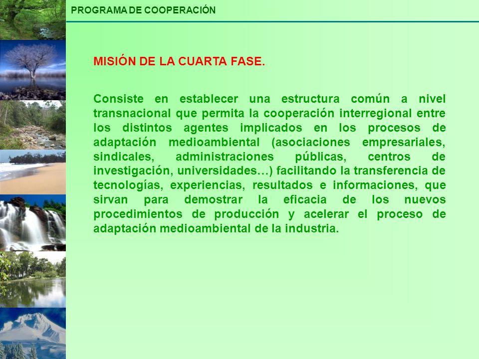 MISIÓN DE LA CUARTA FASE.