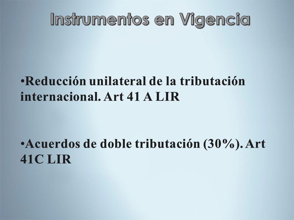 Instrumentos en Vigencia