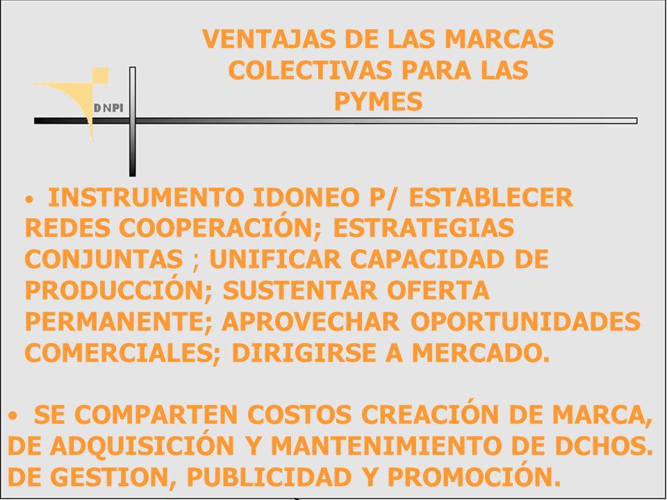 VENTAJAS DE LAS MARCAS COLECTIVAS PARA LAS PYMES