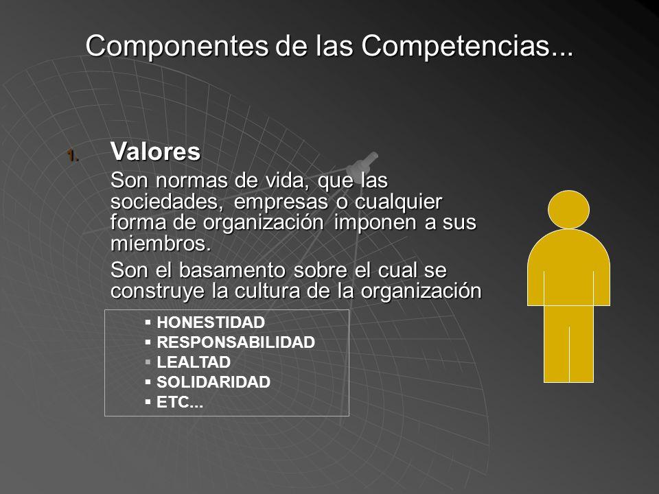 Componentes de las Competencias...