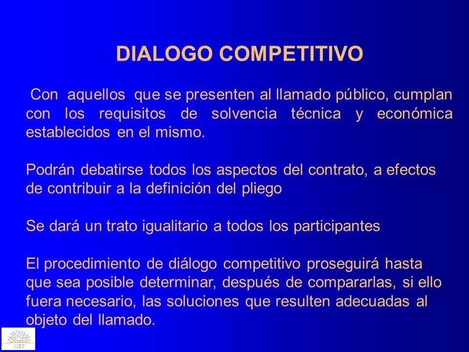 DIALOGO COMPETITIVO