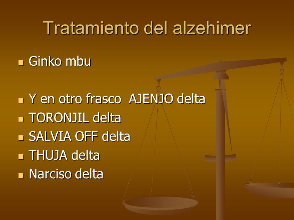 Tratamiento del alzehimer