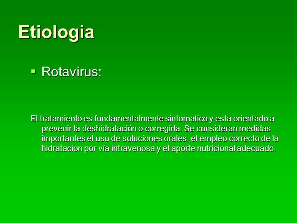 Etiologia Rotavirus: