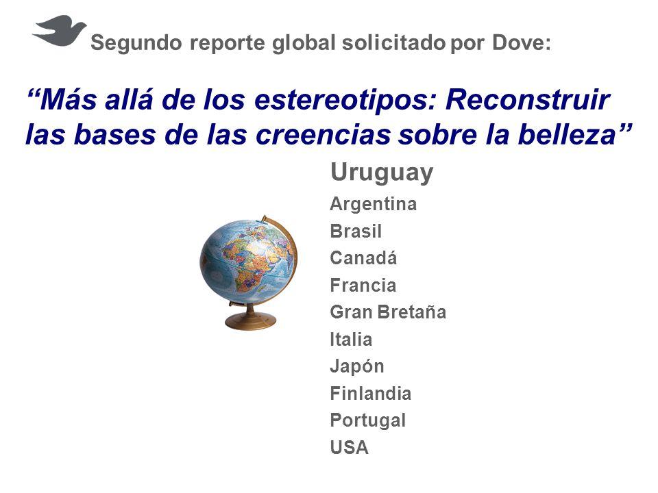 Segundo reporte global solicitado por Dove: Más allá de los estereotipos: Reconstruir las bases de las creencias sobre la belleza