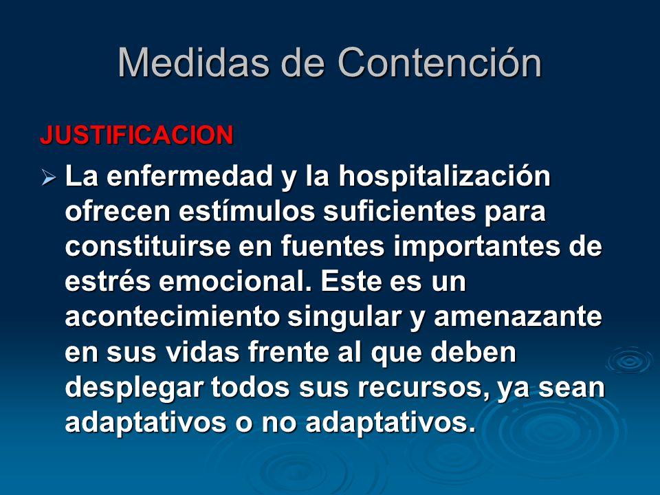 Medidas de Contención JUSTIFICACION.