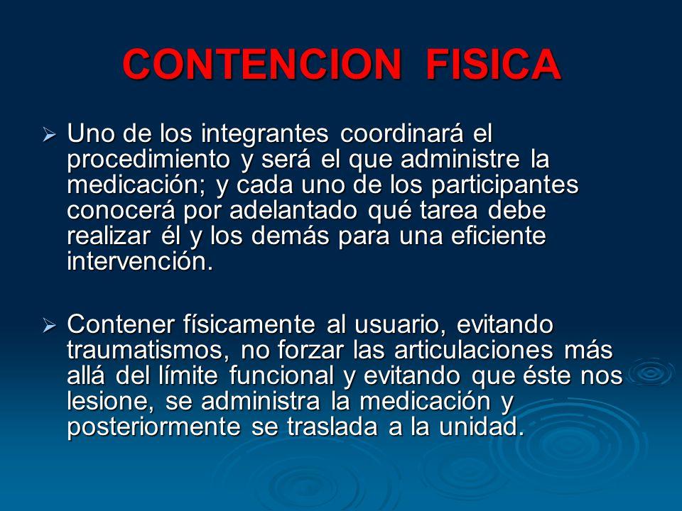 CONTENCION FISICA