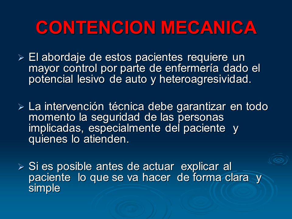 CONTENCION MECANICA