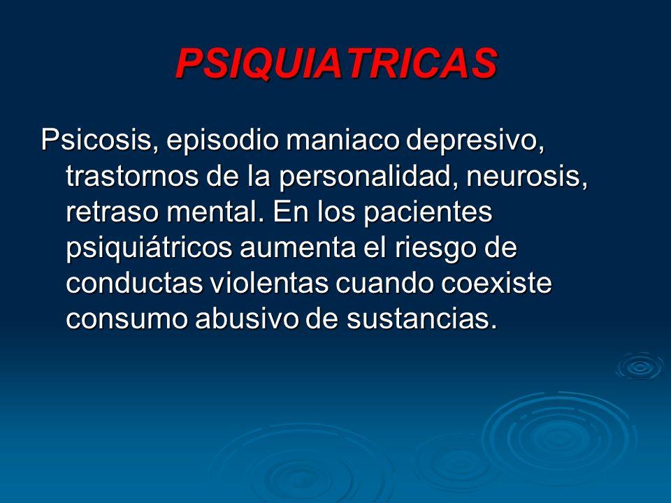 PSIQUIATRICAS