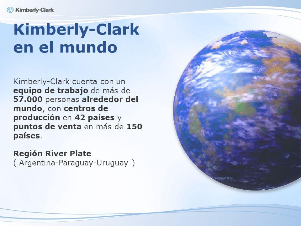 Kimberly-Clark en el mundo