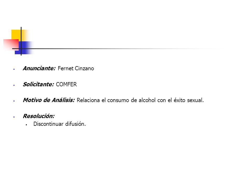 Anunciante: Fernet Cinzano