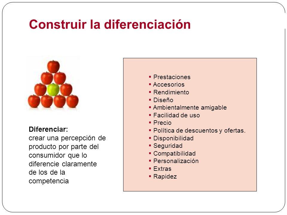 Construir la diferenciación