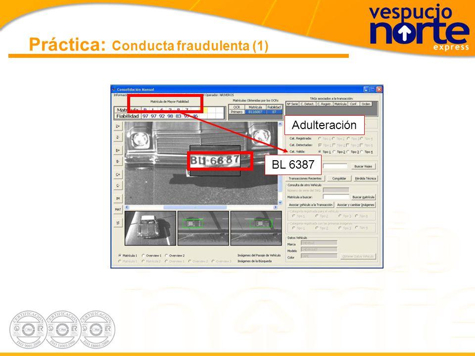 Práctica: Conducta fraudulenta (1)