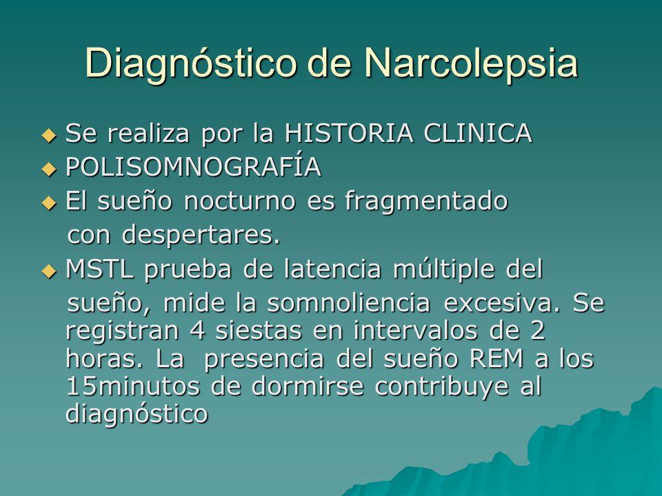 Diagnóstico de Narcolepsia