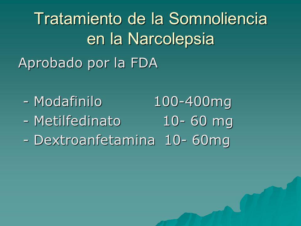 Tratamiento de la Somnoliencia en la Narcolepsia