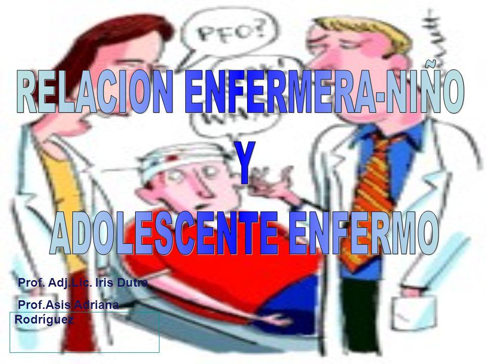 RELACION ENFERMERA-NIÑO